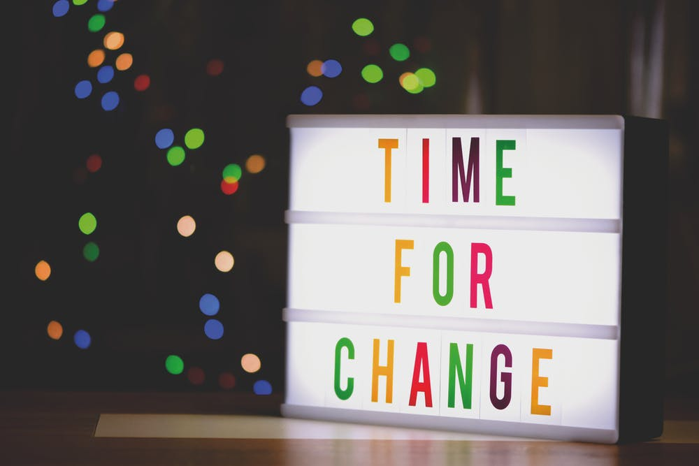 Creating change in 4 easy steps